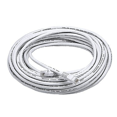 Monoprice® 50' 24AWG Cat6 UTP Ethernet Network Cable, White