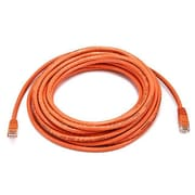 Monoprice® 25' 24AWG Cat6 Crossover Ethernet Network Cable, Orange