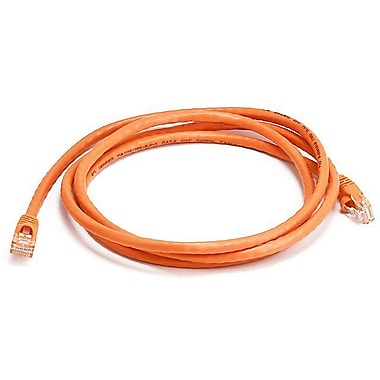 Monoprice® 5' 24AWG Cat6 UTP Ethernet Network Cable, Orange