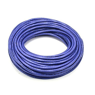 Monoprice® 75' 24AWG Cat6 UTP Ethernet Network Cable, Purple