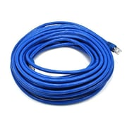 Monoprice® 50' 24AWG Cat6a STP Ethernet Network Cable, Blue