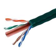 Monoprice® 1000' 24AWG Cat6 UTP Stranded Bulk Ethernet Cable, Green