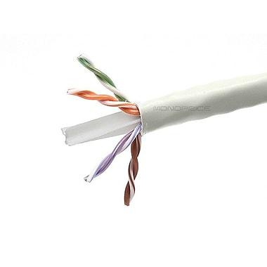 Monoprice® 1000' 23AWG Cat6 UTP Bulk Ethernet Network Cable, White