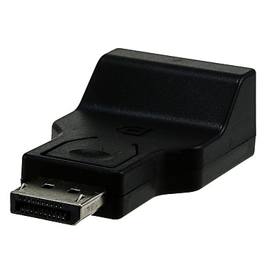 Monoprice® Mini DisplayPort Male to VGA Female Active Adapter, Black