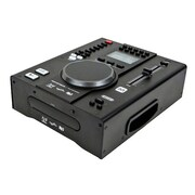 Monoprice® 614410 Tabletop DJ CD Player With USB Flash Player and FX