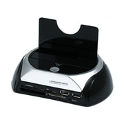Monoprice® SATA HDD Docking Station With Card Reader & 2 Port USB Hub