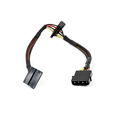 Monoprice® 1' 4 Pin Male to 15 Pin Female SATA Power Cable