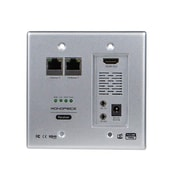 Monoprice® 110228 HDBaseT Wall Plate Receiver With Bidirectional IR Repeater