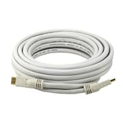 Monoprice® 25' CL2 HDMI Male to Male 24AWG Cable, White