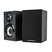 Monoprice® 100W 2 Way Premium Home Theater Satellite Speaker, Black