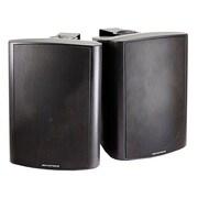 Monoprice® 30W 2 Way Active Wall Mount Speaker, Black