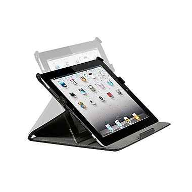 Monoprice® Duo Case and Stand For iPad 2/3/4, Black
