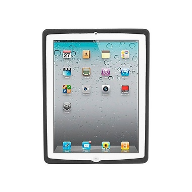 Monoprice® Premium Silicone Case For iPad 2/3/4, Black