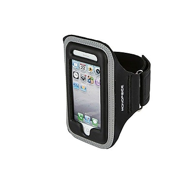 Monoprice® Sports Armband For iPhone 5/5S/5C, Black