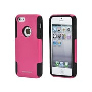 Monoprice® Dual Guard PC With Silicone Case For iPhone 5/5s, Pink