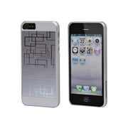 Monoprice® Neutra PC Soft Touch With Steel Case For iPhone 5/5s, Silver