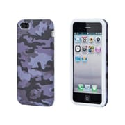 Monoprice® Textile Silicone Case For iPhone 5/5s, Grey Camo