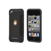 Monoprice® Sure Grip Polycarbonate With TPU Case For iPod Touch 4G, Black