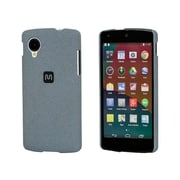 Monoprice® Polycarbonate Case With Soft Sand Finish For LG Nexus 5, Granite Grey