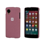 Monoprice® Polycarbonate Case With Soft Sand Finish For LG Nexus 5, Brick Red