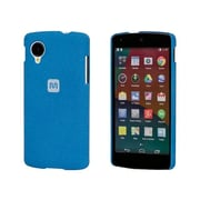 Monoprice® Polycarbonate Case With Soft Sand Finish For LG Nexus 5, Azurite Blue