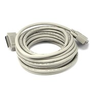 Monoprice® 25' IEEE 1284 DB-25 Male to Male Printer Cable