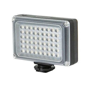 Monoprice® LED Camera Light With 54-Piece LED and 5500K Color Temperature