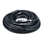 Monoprice® 100' 12AWG NEMA 5-15P to NEMA 5-15R Power Extension Cord, Black