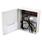 Monoprice® 106875 12 VDC 10 A CCTV Camera Power Supply, 16 Channel