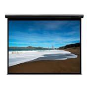"Monoprice® 107933 133"" Motorized Projection Screen, 16:9, Black Aluminum Casing"