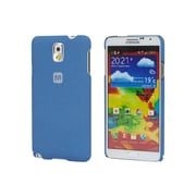 Monoprice® Polycarbonate Case With Soft Sand Finish For Samsung Galaxy Note 3, Azurite Blue