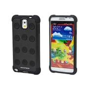 Monoprice® DotDefender Polycarbonate With Silicone Case For Samsung Galaxy Note 3, Black