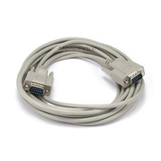 Monoprice® 15' DB 9 Male to Male Molded Serial Cable