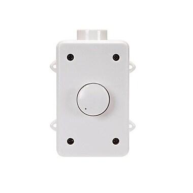 Monoprice® 108240 100 W Outdoor Speaker Volume Controller, White