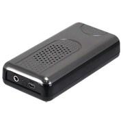 Monoprice® Portable Premium Sonic Resonance Speaker, Black/Gray