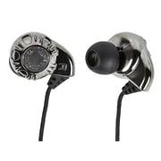 Monoprice® Enhanced Bass Hi-Fi Noise Isolating Earphones, Silver