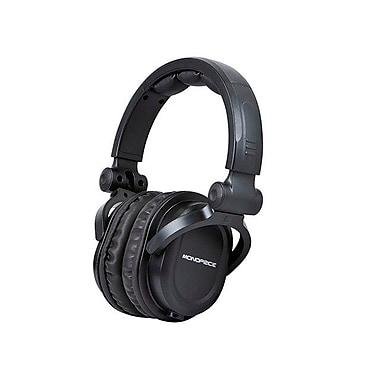 Monoprice® Premium Hi-Fi DJ Style Over-the-Ear Pro Headphone, Black