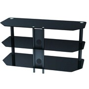 Monoprice® 110903 High Quality TV Stand For Flat Panel TVs Up to 42""