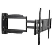 Monoprice® 110459 Full Motion TV Wall Mount For 32-60 Flat Panels Up to 55 lbs., Black
