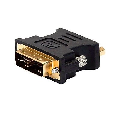 Monoprice 102396 DVI-A Dual-Link to (HD-15) VGA Adapter, Black
