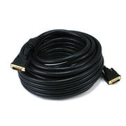 Monoprice® 50' CL2 24AWG Dual Link DVI-D Cable, Black