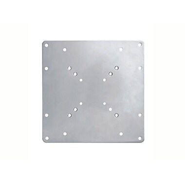 Monoprice® 103402 200x200mm Universal Bracket Adapter, Silver