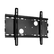 "Monoprice® Low Profile Wall Mount Bracket For 23""-37"" Display Up to 165 lbs., Black (104116)"
