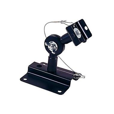 Monoprice® Adjustable Speaker Wall Mount Bracket Holds Up to 33 lbs., Black