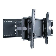 "Monoprice® 108589 Adjustable Tilting TV Wall Mount Bracket For 23""-37"" Display Up to 130 lbs., Black"