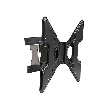 Monoprice® 108680 Super Low Profile Single Stud Wall Mount Bracket F/Flat-Panels Up to 66 lbs.