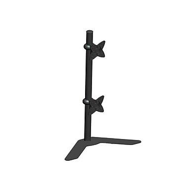 Monoprice® 105561 Adjustable Tilting Dual Desk Mount Bracket For 10