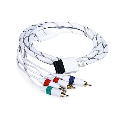 Monoprice® 105689 6' Audio Video ED Component Cable For Wii/Wii U