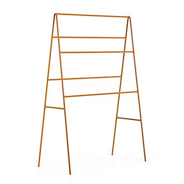 WS Bath Collections Complements Ranpin Free Standing Towel Stand; Orange