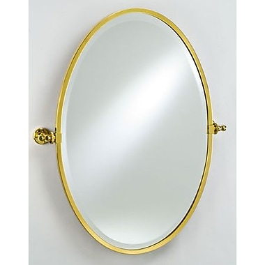 Afina Radiance Gear Tilt Mirror; Polished Chrome